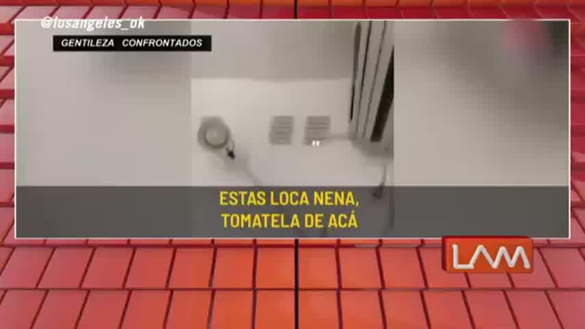 Esmeralda Mitre se subió a la terraza de su ex novio para meterse en su casa