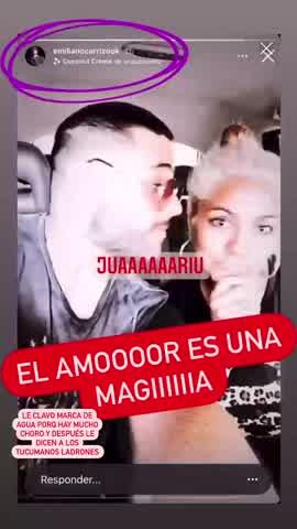 """El video de Gladys """"La Bomba tucumana"""" y Emiliano Carrizo que confirma su relación"""