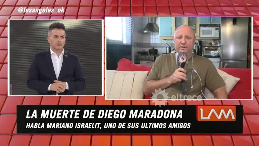 """Mariano Israelit, amigo de Maradona: \""""A Diego lo emborrachaban para que no vea a sus hijas\"""""""