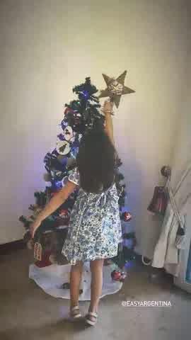 Rufina, Magnolia, Amancio y la China Suárez se adelantaron a la navidad