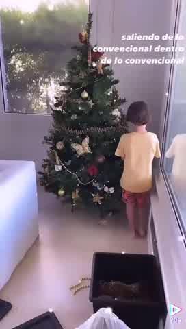 Así se preparan Guillermina Valdés y Lolo Tinelli para la Navidad