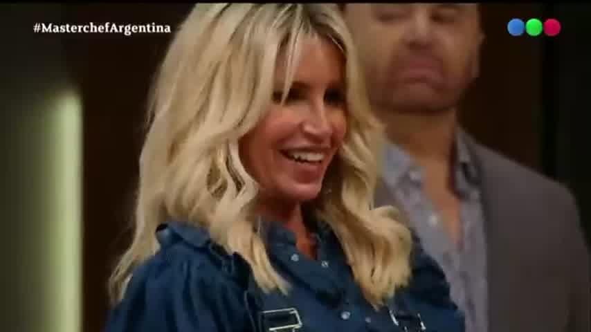 La emoción de Claudia Villafañe en Masterchef tras una devolución de Flor Peña