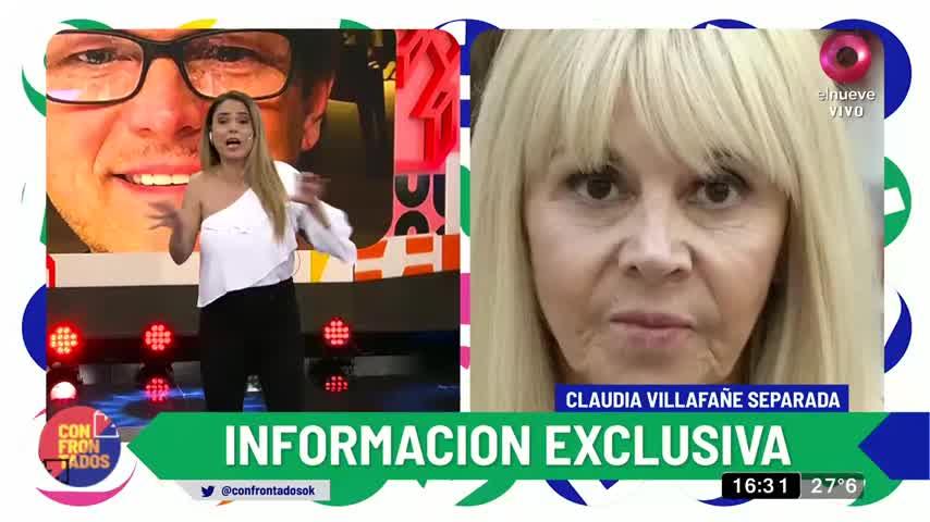 Claudia Villafañe separada