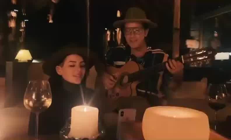 La reacción de Marcelo Tinelli al ver a Cande cantando con Coti Sorokin