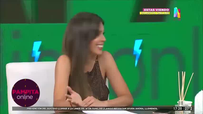 Tras el encuentro con Benjamín Vicuña, Pampita habló de la relación con sus ex