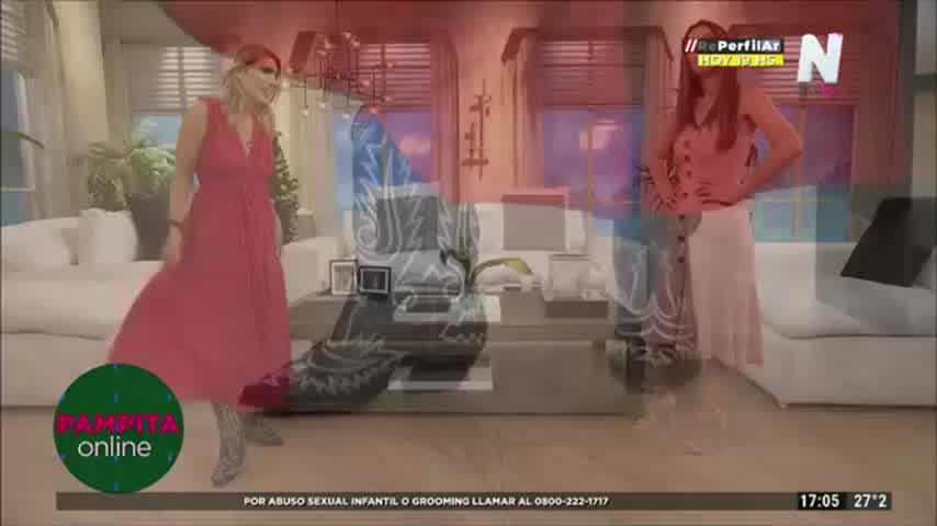 Pampita mostró su particular look en medio de rumores de embarazo