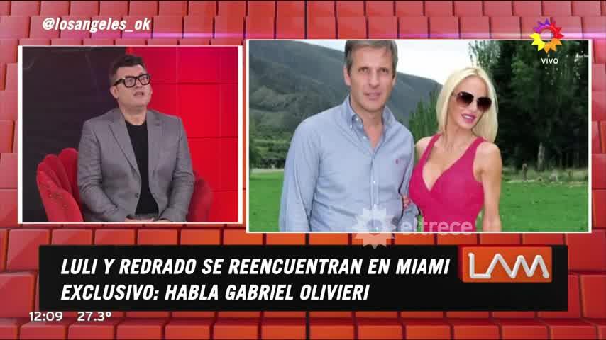 Enviciados por el sexo, después del escándalo, Luli Salazar y Martín Redrado se escaparon a Miami