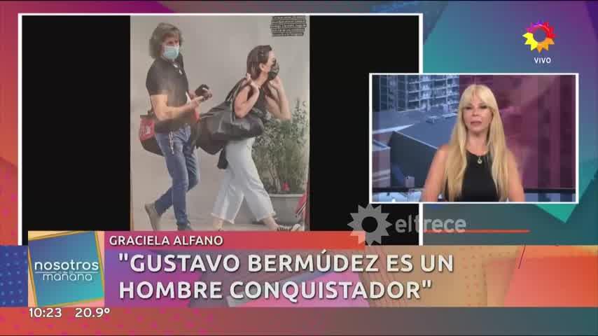 Graciela Alfano recordó su relación con Matías Alé y tuvo un sincericido brutal