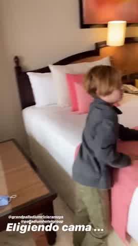 Así arrancó Pampita sus vacaciones familiares en México