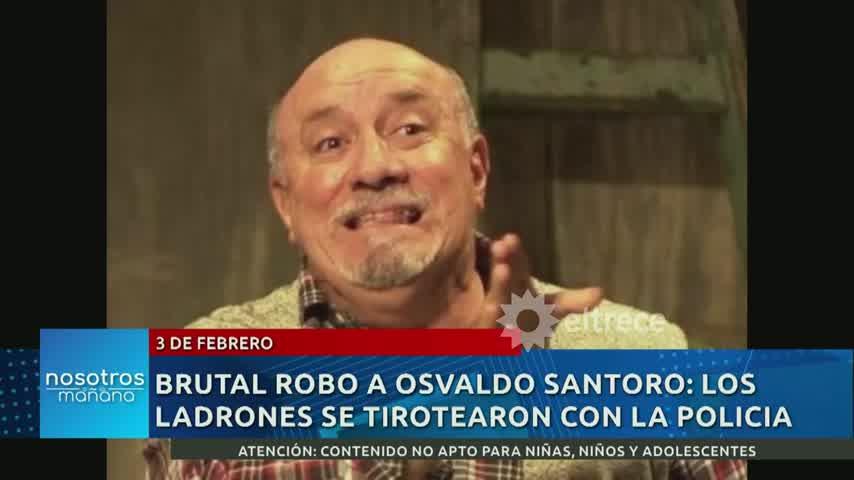 Osvaldo Santoro fue protagonista de violento y brutal asalto