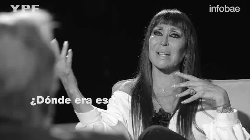 Entre lágrimas, Moria Casán contó el momento en el que Sofía Gala cumplió un año de estar limpia de drogas