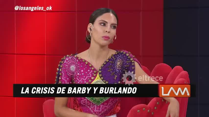Barby Franco salió con los tapones de punta a desmentir en detalle lo que se dice de ella y Burlando