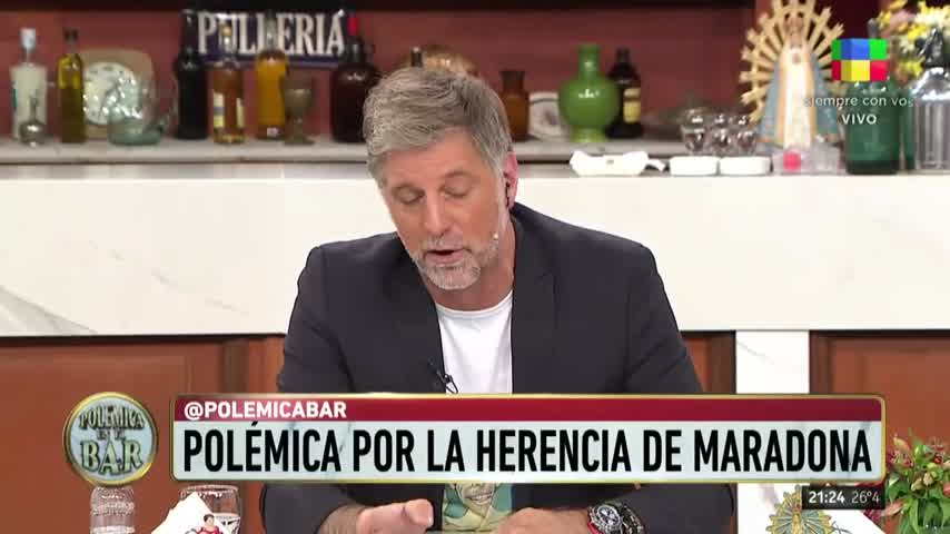 Rocio Oliva sobre Diego Maradona