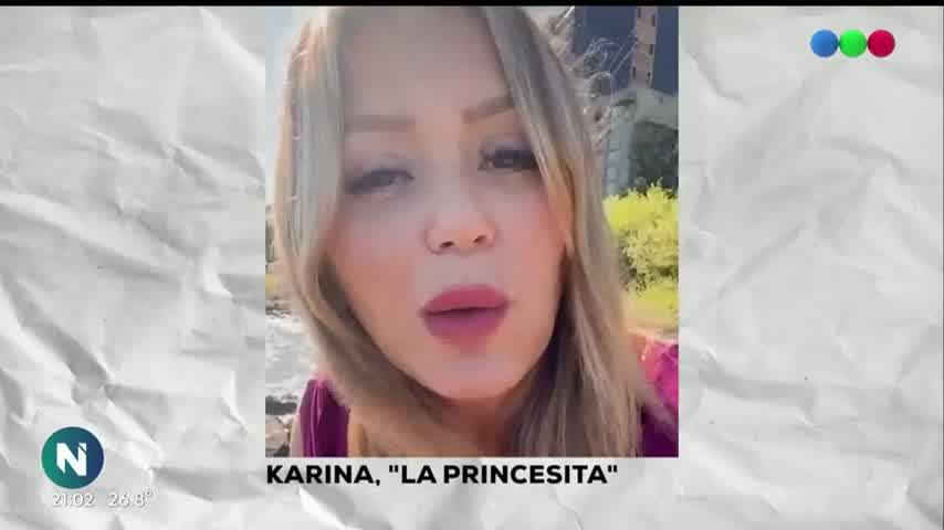ELLOS LA HICIERON: Mónica, la mamá de KARINA LA PRINCESITA - Telefe Noticias