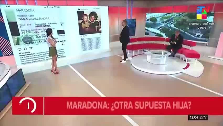 Damaris Alejadra, la supuesta nueva hija de Diego Maradona