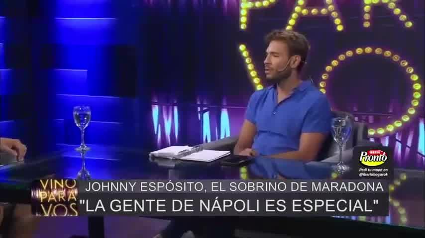 """JOHNNY, EL SOBRINO DE MARADONA: """"NO QUERÍA SER MARADONA, QUERÍA SER DIEGO POR UN RATO"""""""