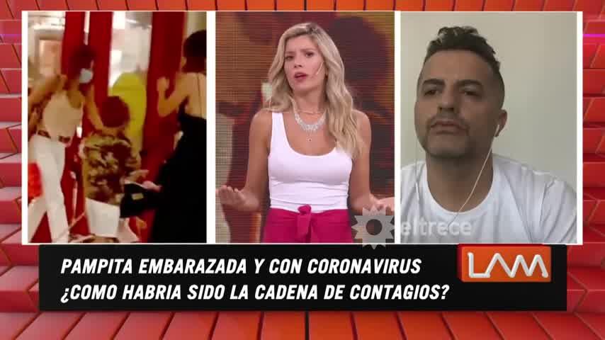 Laurita Fernández confirmó que la hija de la China Suárez está aislada
