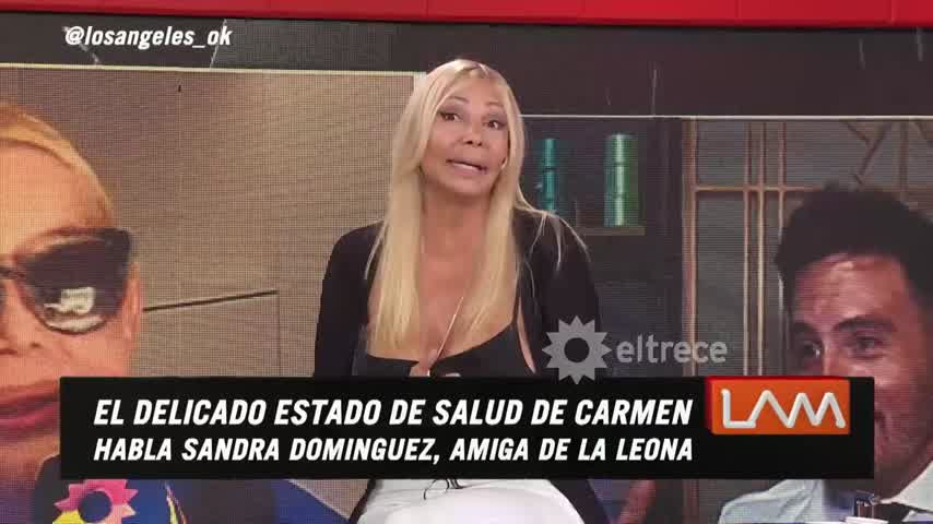 A Carmen Barbieri se le apareció la Virgen mientras estaba internada en terapia intensiva
