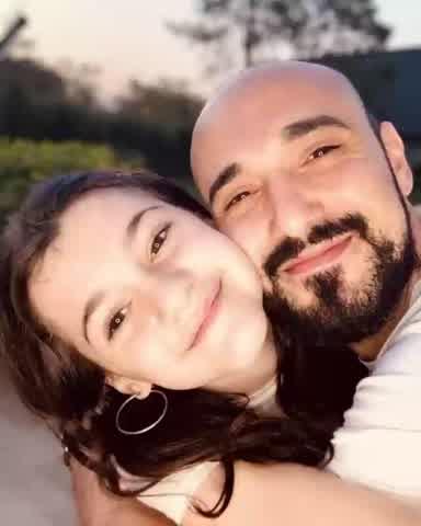 Abel Pintos presentó oficialmente a su hijastra con un emotivo video