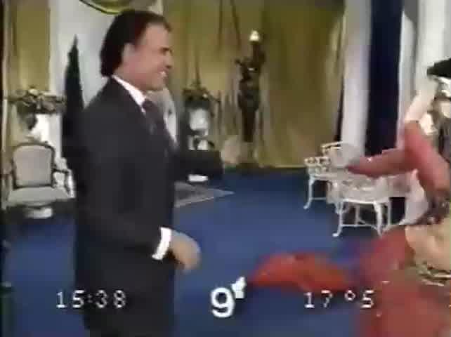 El día que Carlos Menem bailó con Fairuz