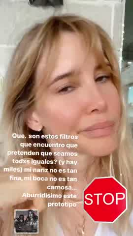 Guillermina Valdés se manifestó en contra de los estereotipos de belleza