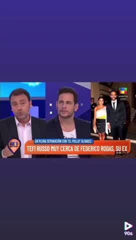 Aseguran que hay un tercero en discordia entre el Pollo Álvarez y Tefi Russo