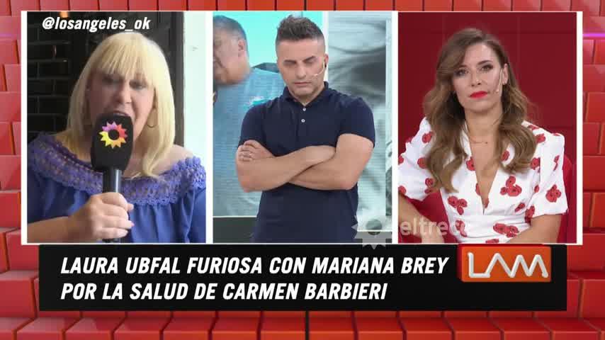 Escándalo en LAM: así fue el tremendo cruce de Mariana Brey y Laura Ubfal