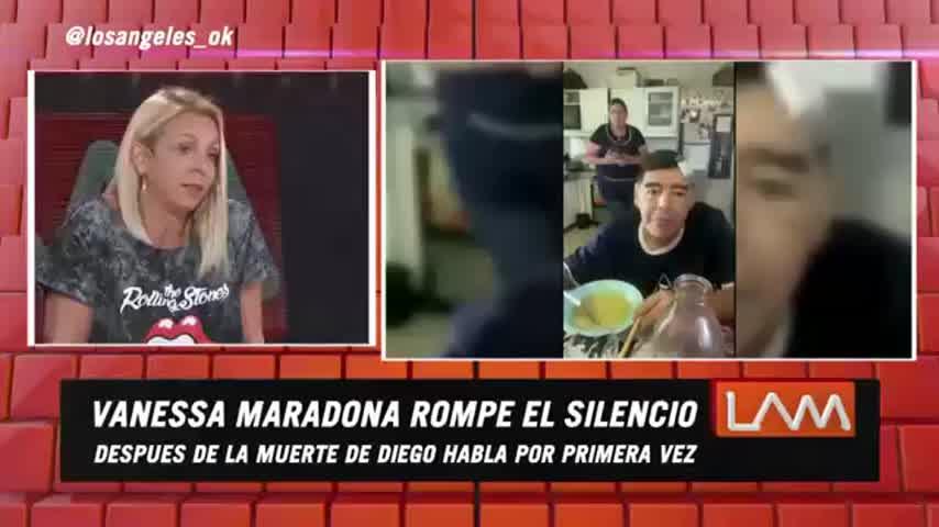 Vanesa Maradona en LAM