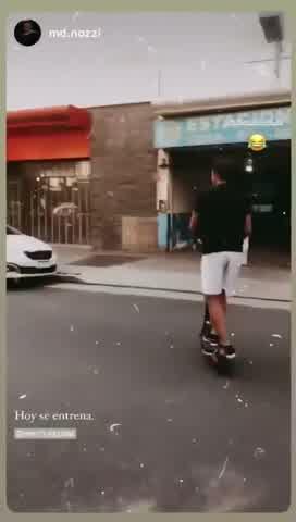 Roberto García Moritán mostró su lado fitness por las calles de Buenos Aires