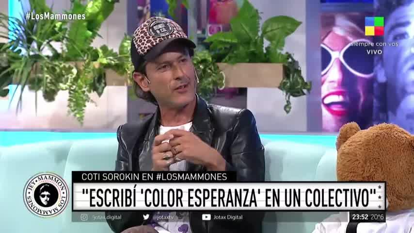 """Coti Sorokin: \""""Escribí \'Color Esperanza\' en un colectivo\"""""""