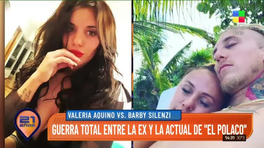Valeria Aquieno le responde a Barby Silenzi