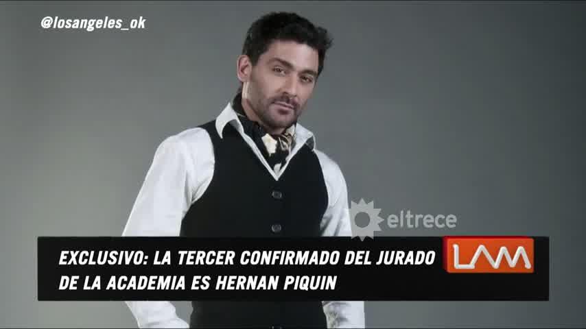 Hernán Piquín es el cuarto jurado confirmado en La Academia 2021