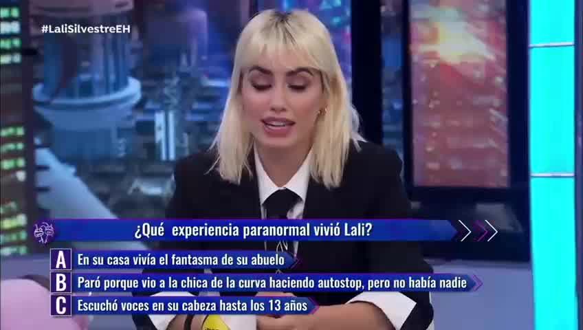 Lali Espósito reveló que tuvo una experiencia paranormal con su abuelo