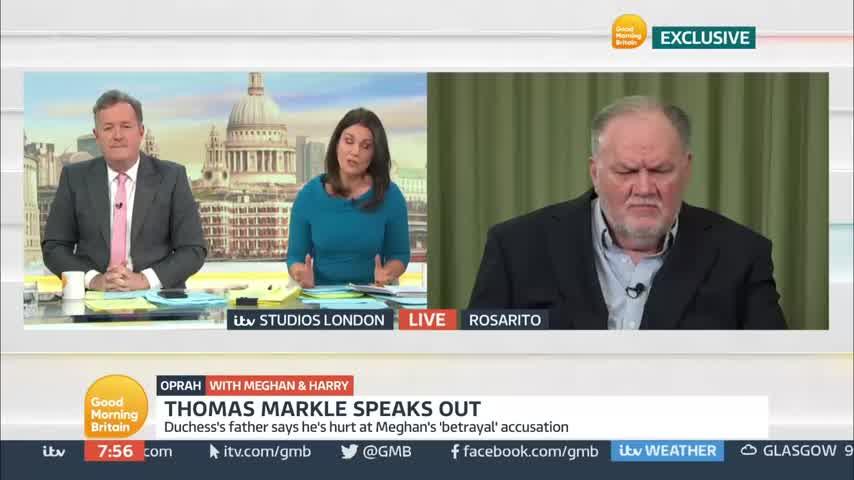 Sorprendente: el padre de Meghan Markle apoyó a la Corona británica
