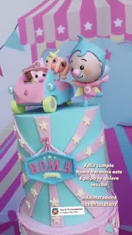 Así fue el cumpleaños número dos de Roma, la hija de Dalma Maradona