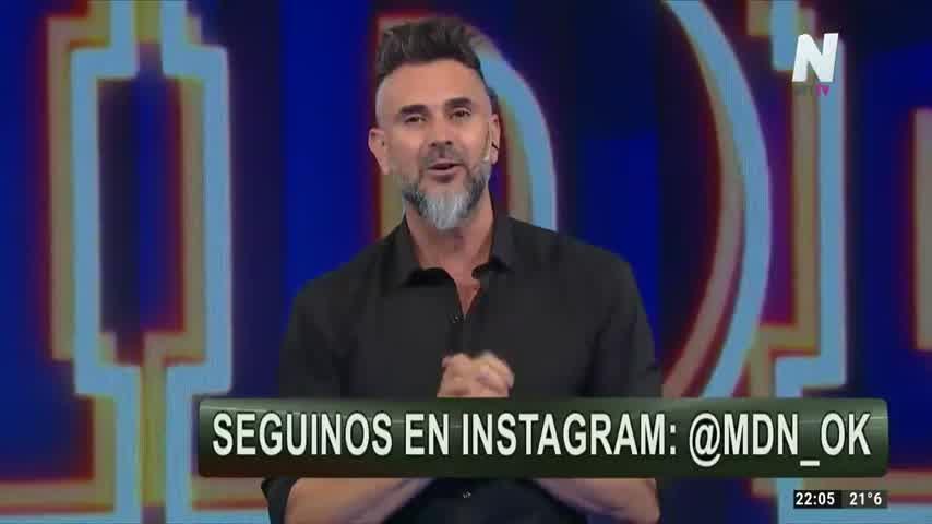 """Así fue el debut de \""""Mejor de noche\"""" con Leo Montero en Net TV"""