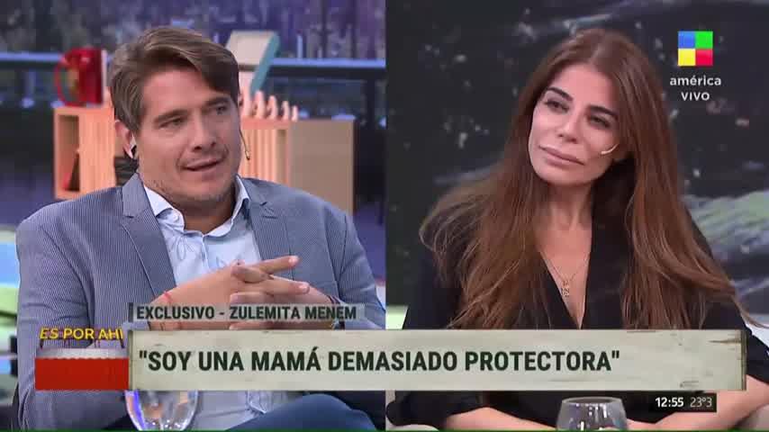 Zulemita Menem contó las señales que recibe de Carlos Saúl