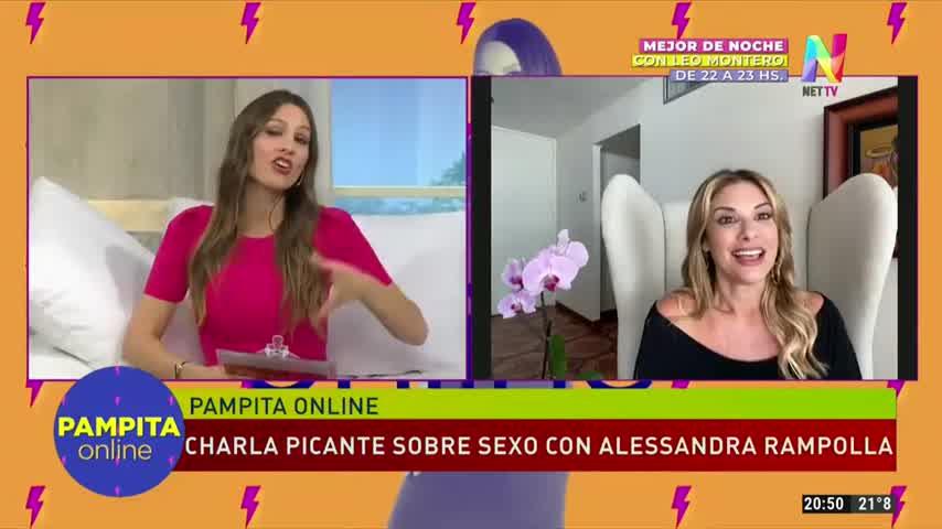 Los consejos de Alejandra Rampolla a Pampita en medio de su embarazo