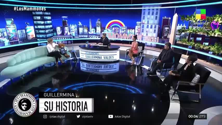 Guillermina Valdés contó cómo fue cuando se vieron por primera vez con Marcelo Tinelli
