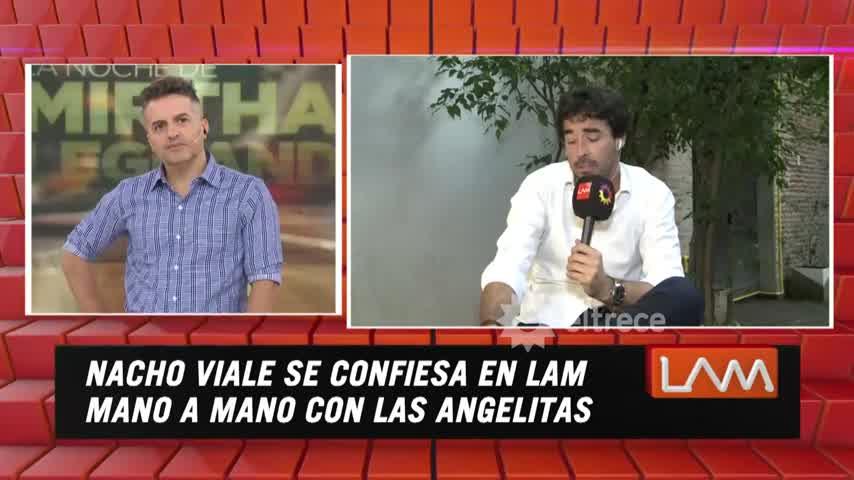 Nacho Viale habló por primera vez de qué pasó con la aparición sorpresiva de Ámbar en aquella mesa