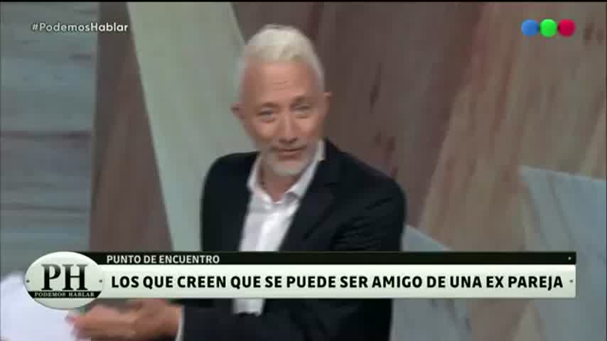 "Moria Casán sobre su marido, Humberto Poidomani: \""No lo veo\"""
