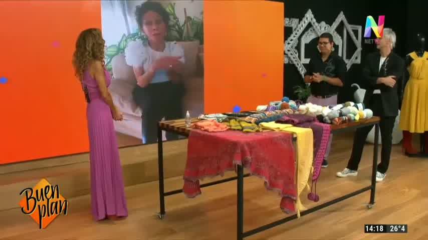 Iliana Calabró se emocionó en el debut de BUEN PLAN
