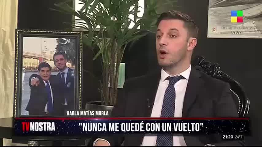 """Matías Morla habló sobre el particular \""""enojo\"""" de Diego Maradona con Dalma Maradona"""
