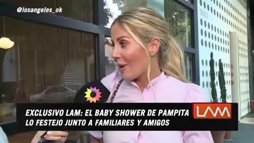 El insólito regalo que Barby Franco le hizo a Pampita en su baby shower