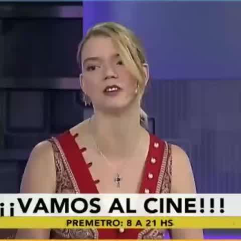 Anya Taylor Joy re argentina