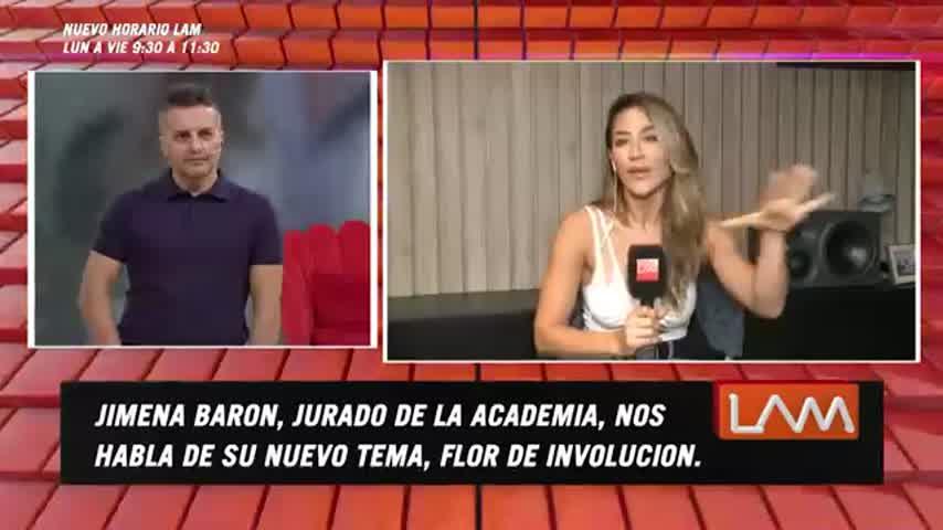 Jimena Barón en LAM