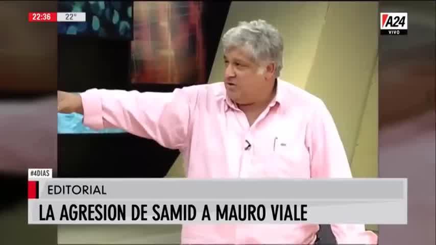 Así fue la histórica pelea Mauro Viale y Alberto Samid