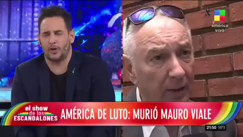 La palabra de Chiche Gelblung tras conocer la muerte de Mauro Viale