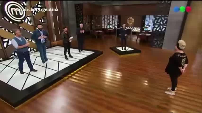 La reacción de Fede Bal al ver a Carmen Barbieri debutar en Masterchef Celebrity