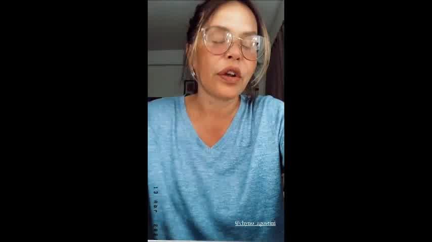 Fuertísima reacción de Nazarena Vélez por un comentario sobre su hijo, el Chyno Agostini